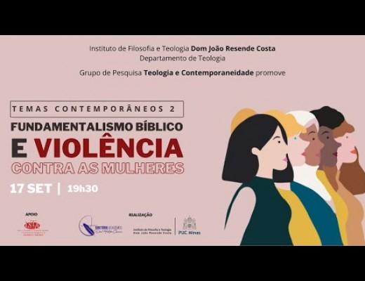 30. Fundamentalismo bíblico e violência contra as mulheres