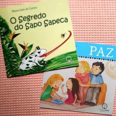 Kit Com Dois Livros Infantis